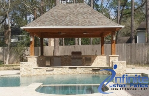 Outdoor Kitchens Design and Builder Houston TX - Ifinite Custom Patios